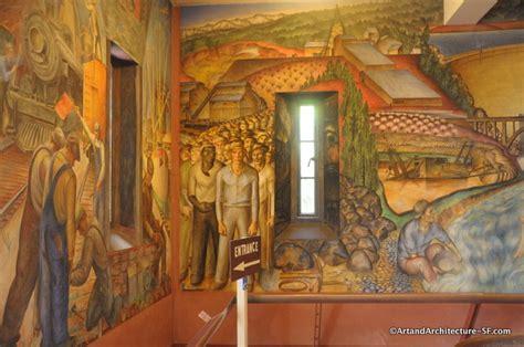 telegraph hill coit tower murals public art and