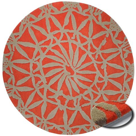 tapis rond de salon esprit home lounge