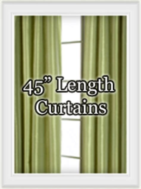 45 inch length curtains shop curtain panels by size bestwindowtreatments