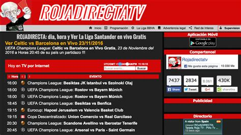 Rojadirecta is the world's biggest sport events index. Rojadirecta condenada a indemnizar a Mediapro