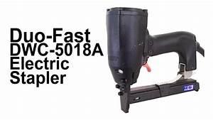Duo-fast Ewc-5018a - Electric Stapler