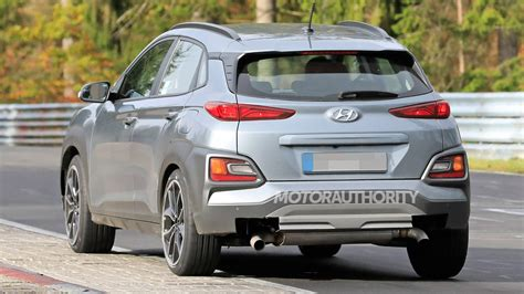 Hyundai confirmed that the kona n will be equipped with launch control and revised exhaust system tuned for an emotional sound experience. does the 2021 hyundai kona n have any competitors? 2022 Hyundai Kona N spy shots
