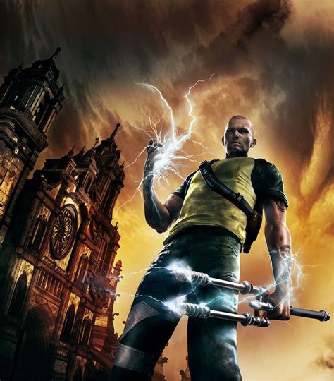 Cole Macgrath Characters And Art Infamous 2 Shadowrun