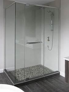 modele de douche sans porte maison design bahbecom With porte vitrée douche