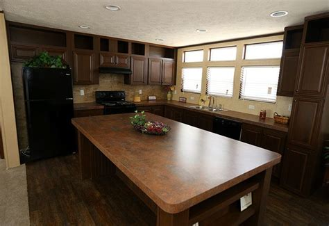 mobile home kitchen islands on the lot cmh absolute value slt28764a otl mobile home 7552