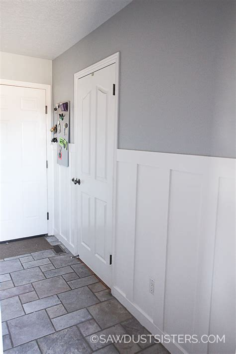 Building Wainscoting Panels by Wainscoting Panels Getting The Look Without Breaking The
