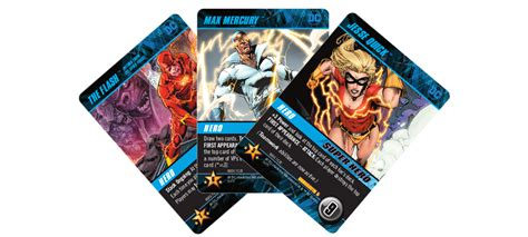 dc deck building crossover game rogues pack flash cryptozoic gaming coming preview arrive week