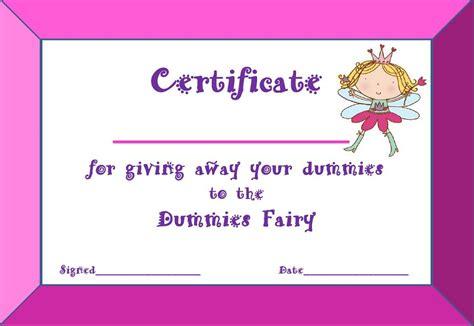dummies fairy  time mummy diary