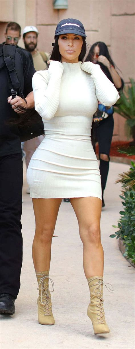 Kim Kardashian Leaving Her Hotel In Dubai   Kim Kardashian Style   Pinterest   Dubai Kim ...