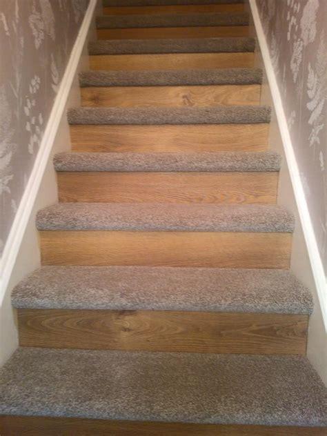 oak laminate flooring to riser saxony on treads kirkwood cookridge simply