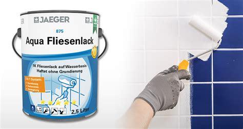 Jäger Fliesenlack Technisches Merkblatt by J 228 Ger Aqua Fliesenlack Home Ideen