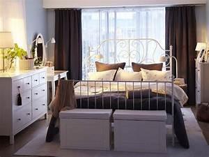 Metallbett Ikea Weiß : 17 tolle designs f r komplettes ikea schlafzimmer ~ Watch28wear.com Haus und Dekorationen