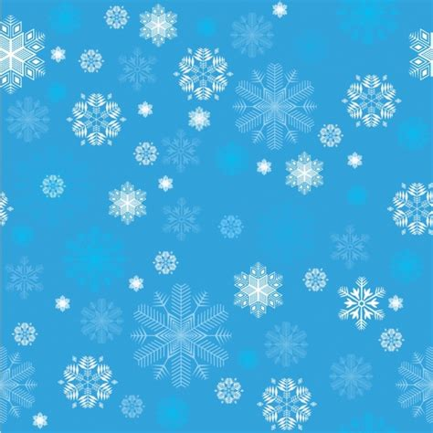 Blue Snowflake Background by Blue Snowflake Background Free Vector 47 681