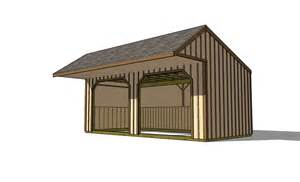 12x24 Shed Plans With Porch by 12 215 20 Run In Shed With Covered Porch Icreatables Com
