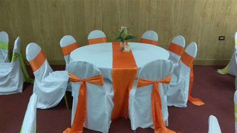 White Polyester Banquet Chair Covers