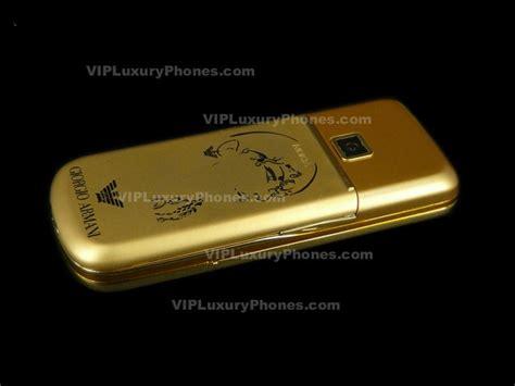nokia  armani gold designer mobile nokia phone  sale