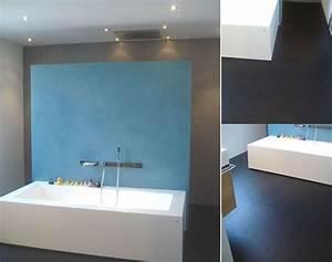 Moderne Wandgestaltung Bad : wohnideen wandgestaltung maler fugenloses traum bad in kooperation mit schreinerbetrieb umgesetzt ~ Sanjose-hotels-ca.com Haus und Dekorationen
