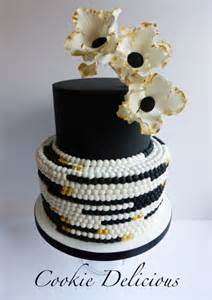 gold wedding cake toppers cool and stunning black cakes page 4 of 32