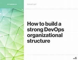 Software Development Organization Chart How To Build A Strong Devops Organizational Structure