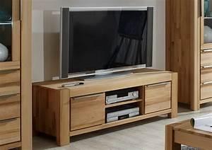 TV Lowboard L Kernbuche Massiv Lackiert Mit 2 Schubksten