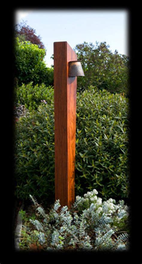 temple garden outdoor lighting pacific series wood