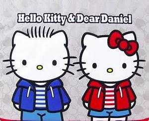 HK with her BF Dear Daniel | Hello Kitty | Pinterest ...