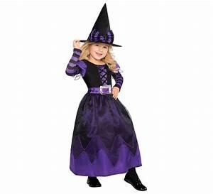 Disfraz de Brujita morada para niñas para Halloween
