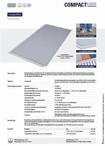 Verbrauch Fußbodenheizung Berechnen : compactfloor pro universal trockenbauplatte 10 mm ~ Themetempest.com Abrechnung
