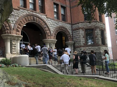 bridgeports golden hill courthouse reopens  pandemic