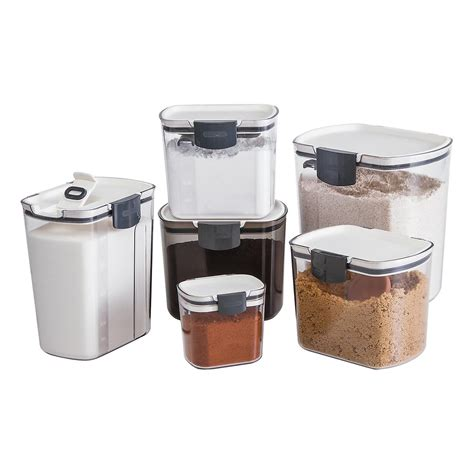 kitchen flour storage containers prokeeper 4 qt flour container the container 4871