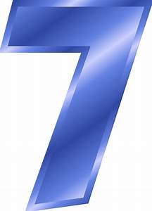 Your Number 7 Clipart - Clipart Suggest