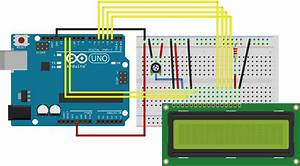 Arduino 16x2 Lcd Black Boxes