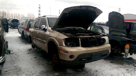 Buick Rainer 2005 by 2005 Buick Rainer At The Junk Yard