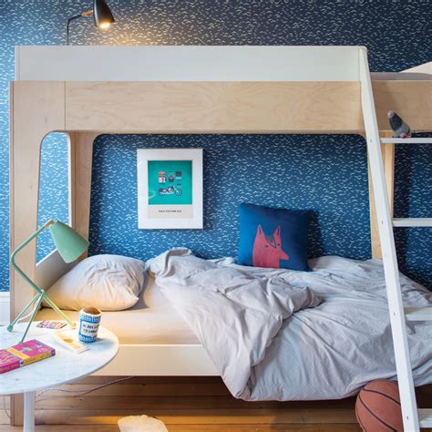 oeuf nyc perch bunk bed  birch   nubie modern