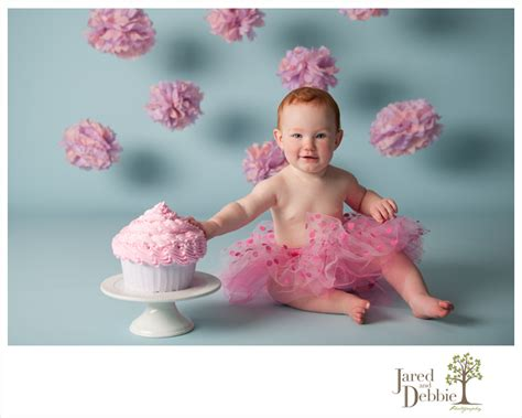Sneak Peek: Savannah is One!   First Birthday Cake Smash ...