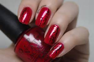 Red nail art lacquer uk
