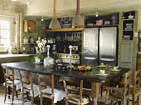 cuisine style industrielle cuisine cagne industriel kitchen