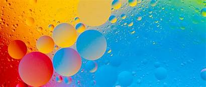 4k Abstract Ultra Wallpapers Bubbles Colourful Wide