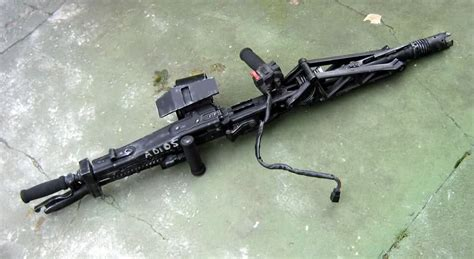 Steadi-cam Mounted Mg42 From Aliens?