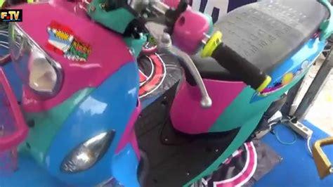 Modif Mio J Jadi Fino by Modifikasi Motor Mio Fino Thailook Pecinta Modifikasi