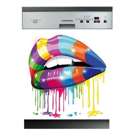 stickers lave vaisselle bouche pas cher