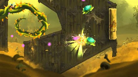 Rayman Legends Up, Up And Get Away! / Rescue Olympia
