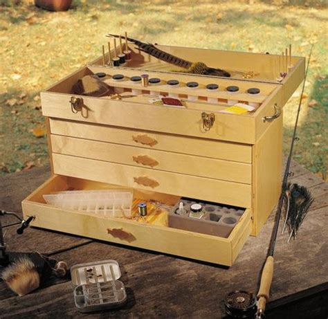 fly tying box project  popular woodworking magazine