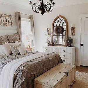 50 cozy farmhouse master bedroom decor ideas homeideasco With master bedroom designs inspiration for small spaces