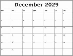 August 2029 Printable Calendars