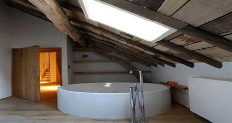 idee deco salle de bain sous pente ou sous combles