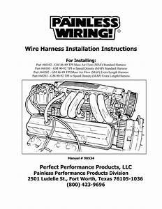 Gm Wire Harnes Part