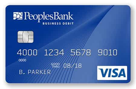 Lost debit card replacement fee at the top 10 u.s. Business Bank Cards   PeoplesBank