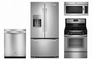 Whirlpool Stainless Kitchen Appliance Package - Abt.com