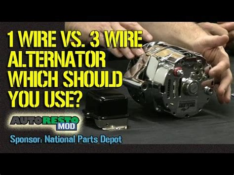 Wire Alternator Plus Other Tips For Classic